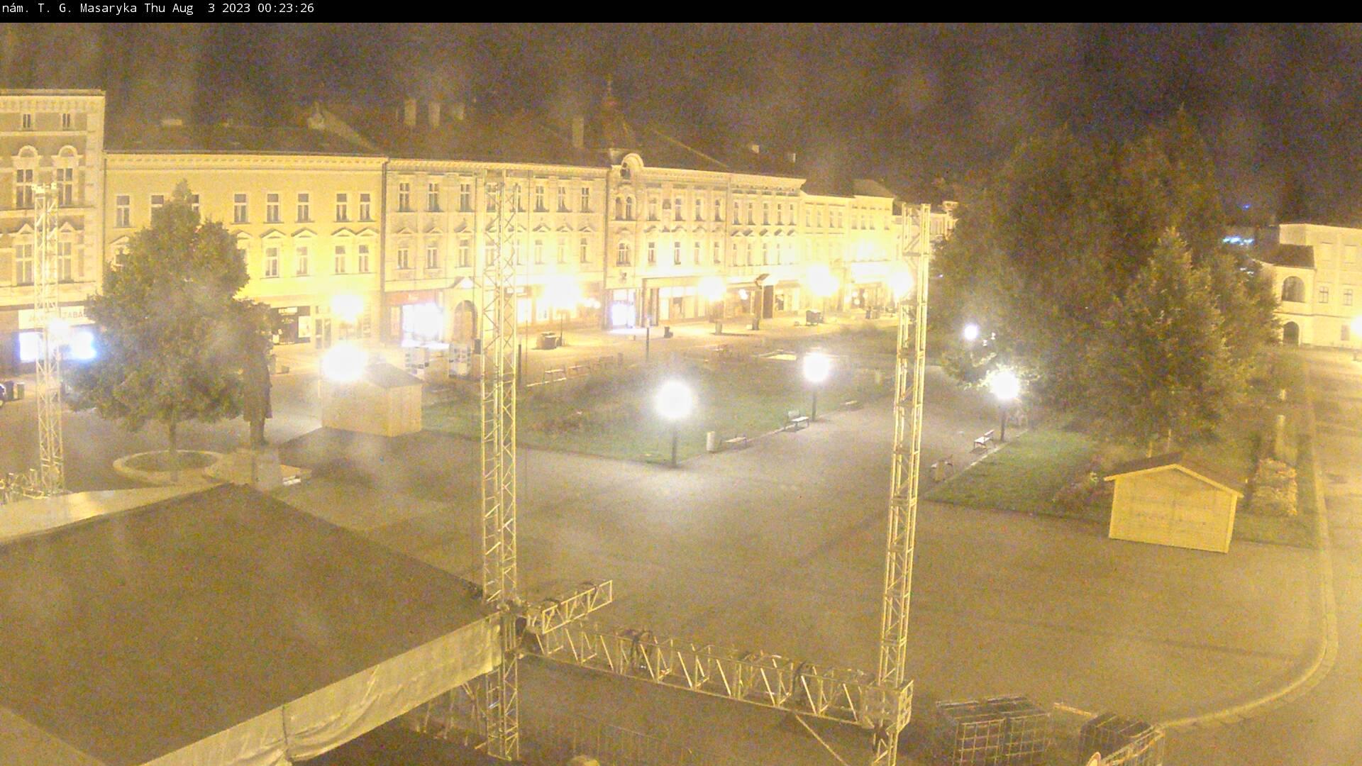 Webcam Prostějov, Nám. T.G.M.